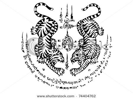 thai tiger - Google Search | Tiger tattoo design, Thai ...