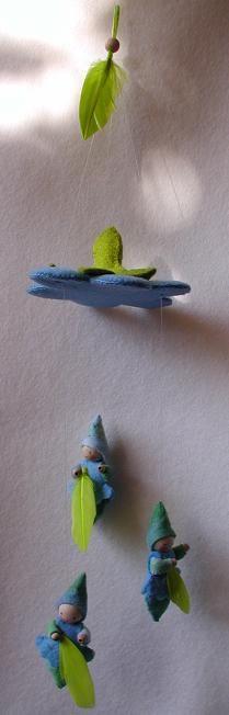 Atelier Pippilotta :: Pakketten Zomer      ::  bloemendans