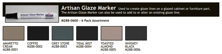 Other Woodworking Supplies 183161: Artisan Glaze Marker By Mohawk Finishing -> BUY IT NOW ONLY: $44.99 on eBay!