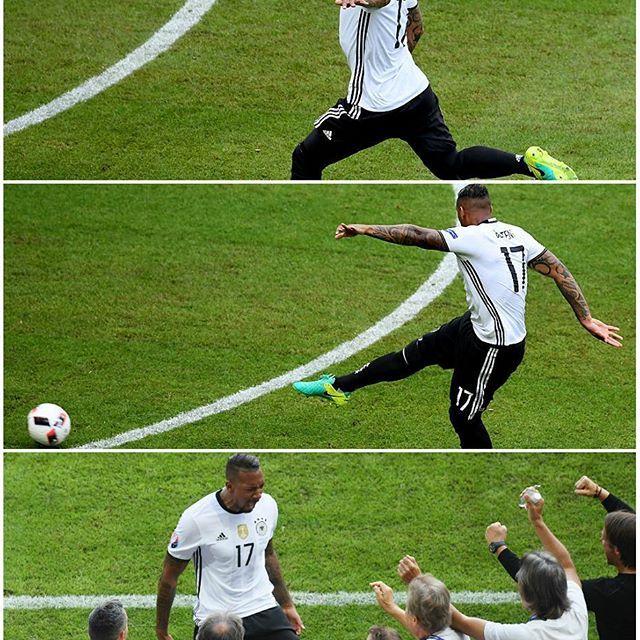 @jeromeboateng's volley 👏 🎉  #Boateng #Germany