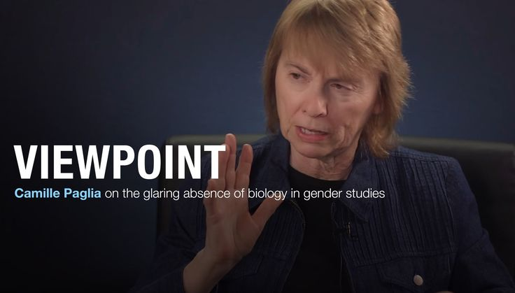 Christina Hoff Sommers and Camille Paglia on the absence of biology in gender studies.