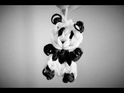 Rainbow Loom Panda Bär (deutsche Anleitung) - YouTube