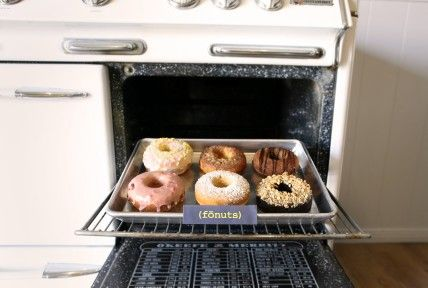 gluten free donuts... :)