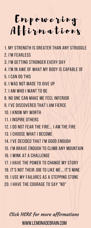 1.132 positive Affirmationen: Ihre tägliche Liste einfacher Mantras
