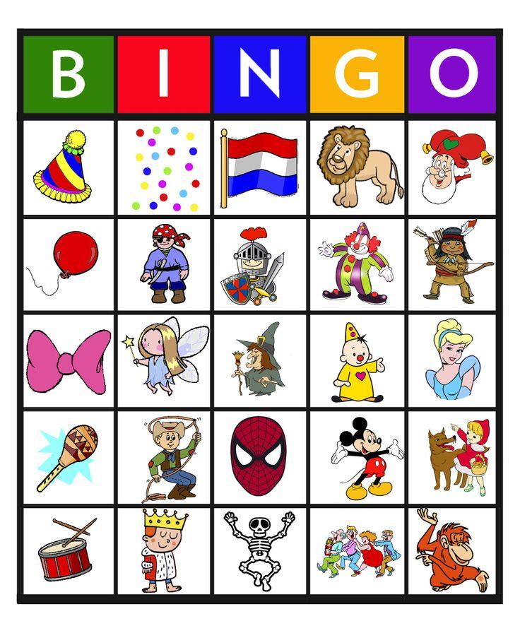 Feest: Bingo carnaval 6
