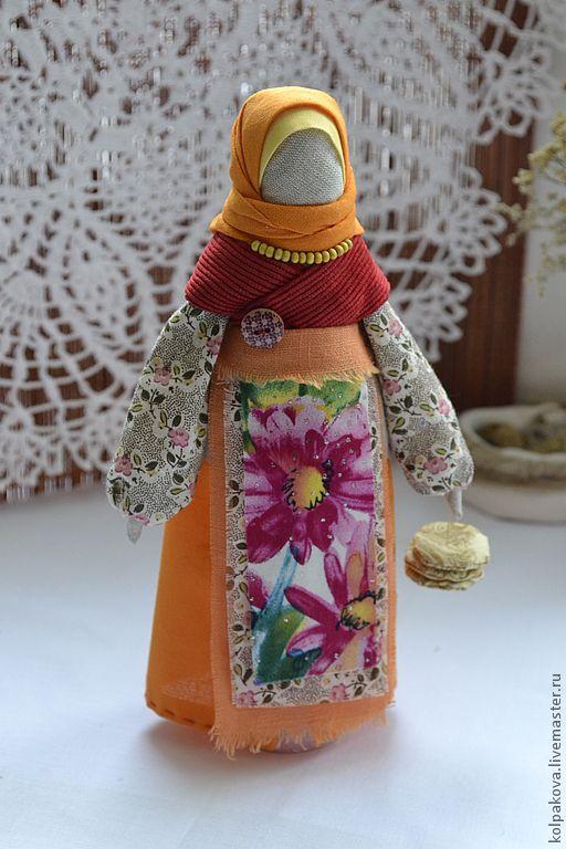 кукла Масленица Домашняя. - рыжий,Масленица,блины,масленица домашняя,народная кукла