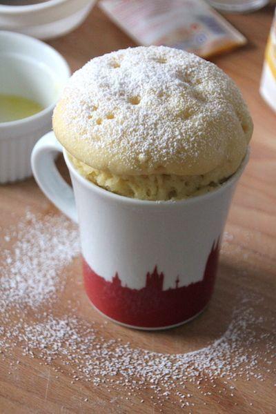 Joghurt Mug Cake selber machen