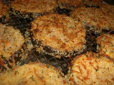 Crispy Oven Fried Eggplant Parmesean | WW Recipe Diva