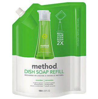 Dish Soap Refills. Their good. Their the smarter choice. It's cheaper (usually). So why don't more people choice them?