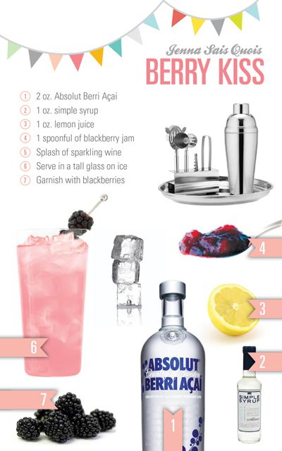 Berry Kiss (Bramble) Recipe