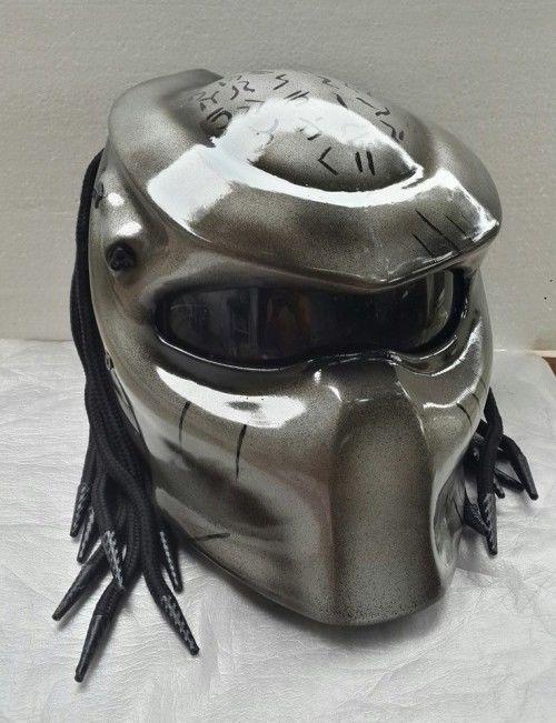 PREDATOR HELMET MOTORCYLE DOT APPROVED SIZE S.M.L.XL #Celloz #Helmet