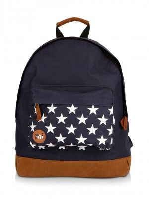 Mi-pac Star Print Rucksack With Padded Shoulder Straps from KOOVS.COM