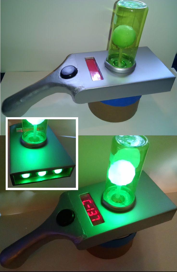 Portal gun from Rick and Morty - Imgur