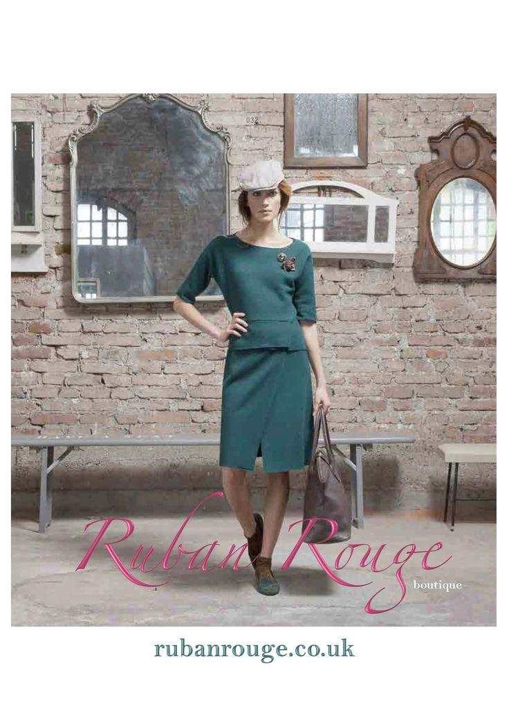 Ruban Rouge fashions promotional flyers.