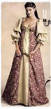 McCalls M2645 UNCUT PATTERN 12-16 Medieval Renaissance Dress Gown Bridal/Wedding OOP $21.02