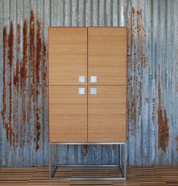 cupboard credenza contenitore armadio di EbanisteriaCavallaro