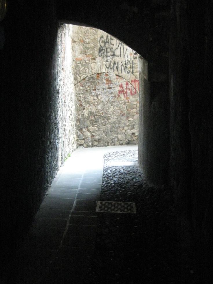 Old Town / Citia Alta.   Bergamo. Italy.