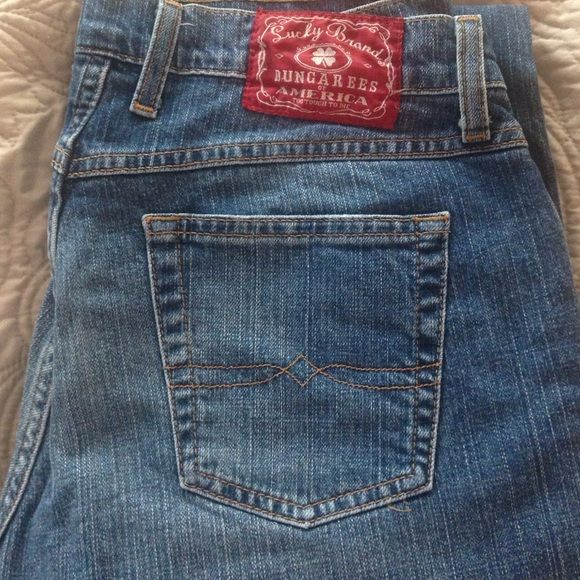 Lucky Brand Dungarees Women's Jeans. Perfect!! Perfect Condition Women's Lucky Brand Dungarees Jeans!  Great jeans!! Lucky Brand Jeans Straight Leg