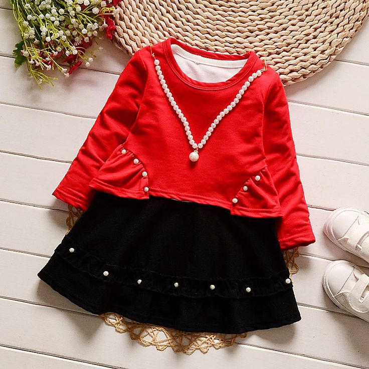 >> Click to Buy << 2017 spring new fashion girl dress toddler party dress infant clothes baby girl birthday dress high quality pearl design #Affiliate