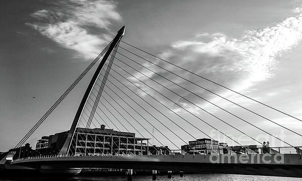 Samuel Beckett Bridge Dublin, Ireland in B&W. Visit my photo gallery and get a beautiful Fine Art Print, Canvas Print, Metal or Acrylic Print OR Home Decor products. 30 days money back guarantee on every purchase so don't hesitate to add some Irish Magic in your home or office.