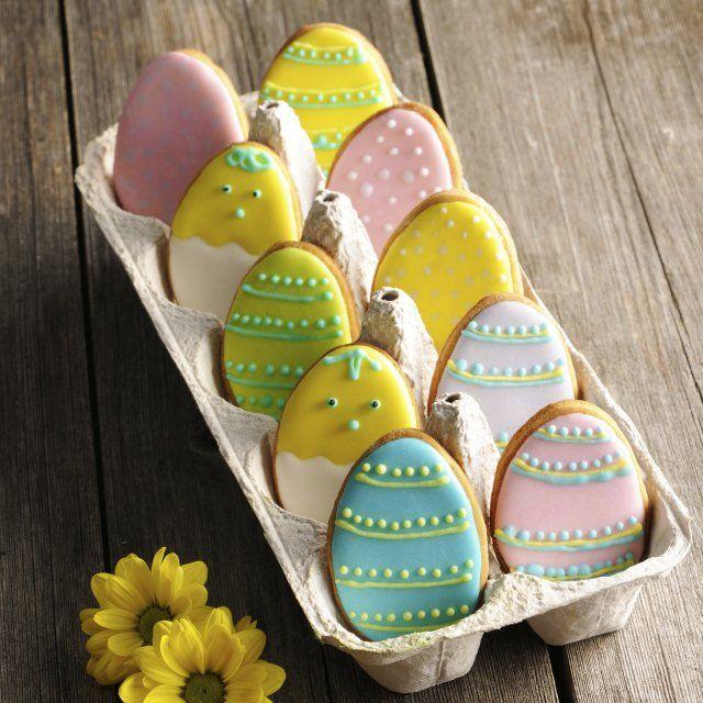 Galletas de Huevo para Pascua