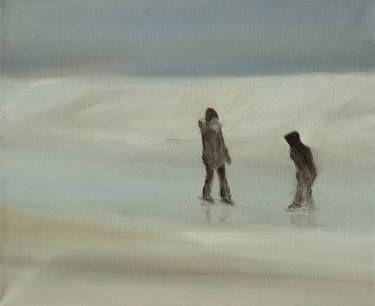 "Saatchi Art Artist Marta Zamarska; Painting, ""Winter Impression 7"" #art"