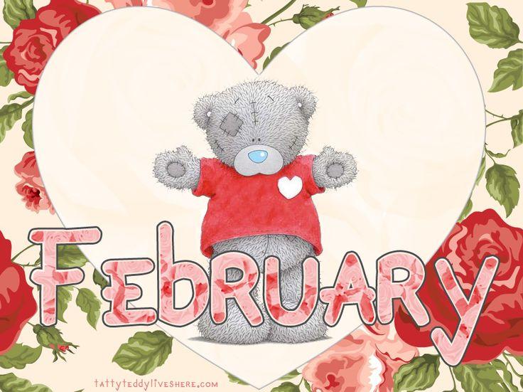 ♥Tatty Teddy♥ February