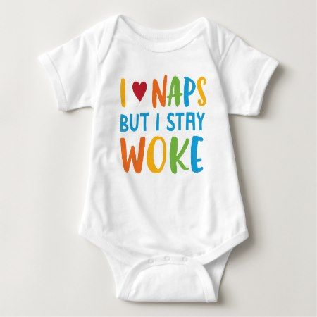 Stay Woke Infant Bodysuit One Piece - click to get yours right now!