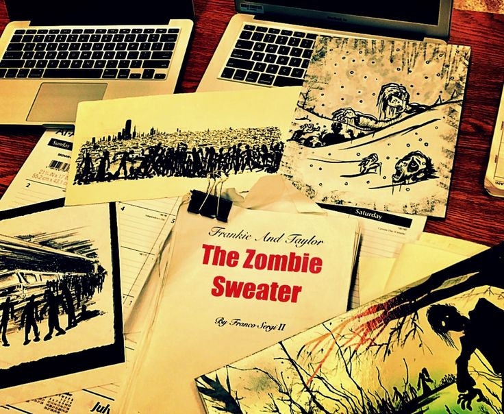 """My novel """"Frankie & Taylor & The Zombie Sweater"""" """"Book 1 """"Apocalypse"""" will be Available on Amazon this Halloween. #Zombie #Zombie #YA #YAlit #paranormal #Dystopian #Comingofage #Horror #Teenromance #Apocalypse #Trilogy #Book #Books #newauthor"""