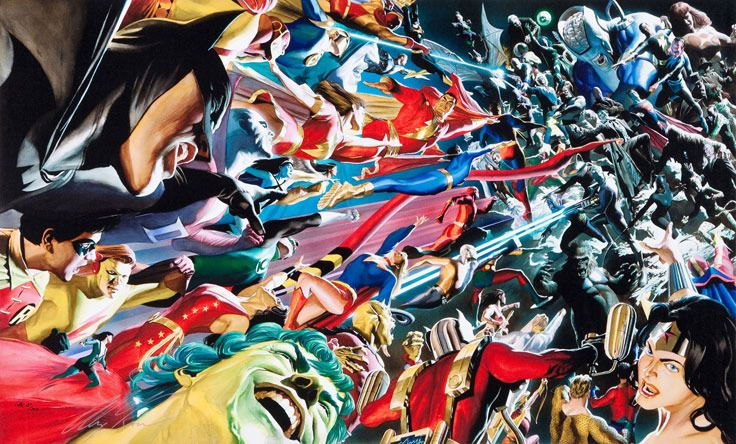 Alex Ross Mythology: Good vs. Evil by Alex Ross
