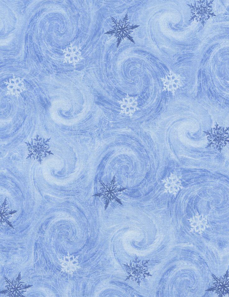 Snowy Swirl - Our Fabrics | TIMELESS TREASURES