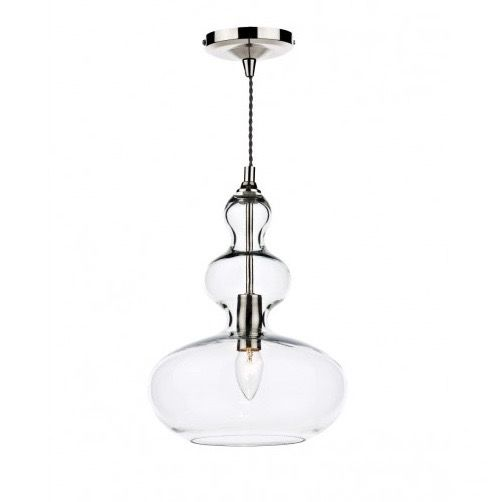 A sleek and unique light fitting that will add a touch of class to your kitchen interior.