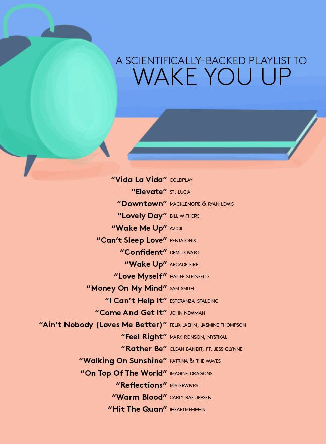 Wake up playlist