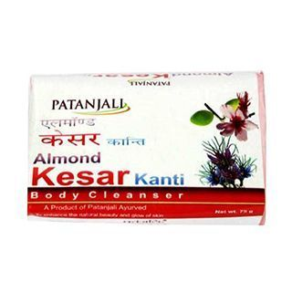 Patanjali Almond Kesar Kanti is a product of Patanjali Ayurved. It helps enhance the natural beauty and glow of the skin. PATANJALI ALMOND KESAR 75gm Price Rs.19