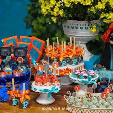 E em mais uma parceria com Cenário Festas..... MERIDA, a princesa mais VALENTE da Disney!!!                              Obrigada pela vi...