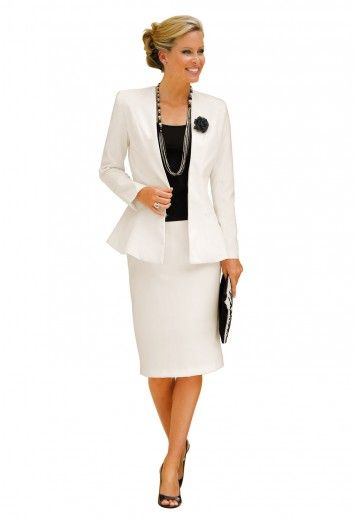 Veste de tailleur longue pour femme