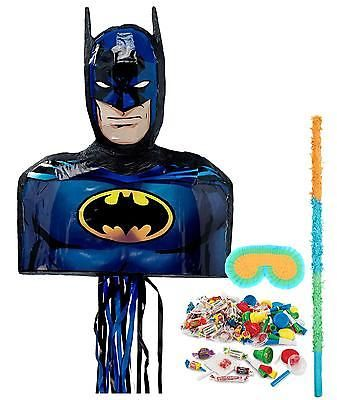 Party Games and Activities 102411: Batman Party Supplies - Pinata Kit -> BUY IT NOW ONLY: $31.99 on eBay!
