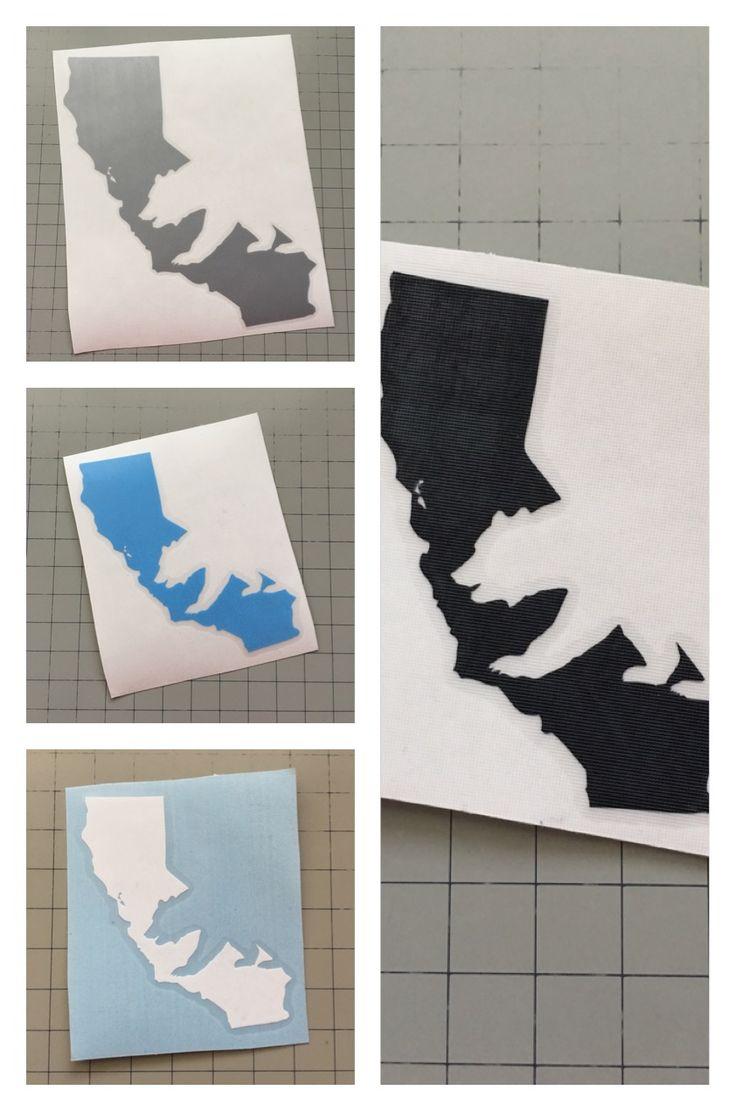 Best State Decals Images On Pinterest Laptop Decal Laptop - Custom vinyl stickers utah