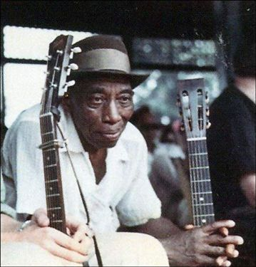 Mississippi John Hurt, the cuddliest blues man of all.