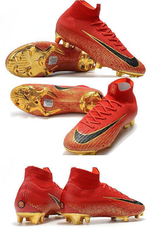 Fútbol De Fg 6 Oro Zapatillas Mercurial Rojo Superfly Nike Elite XuTwOPikZ