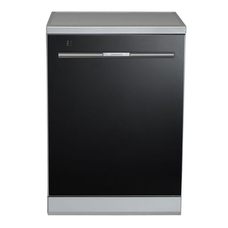 Baumatic BSS14 Freestanding Dishwasher BSS14 (Black Glass)