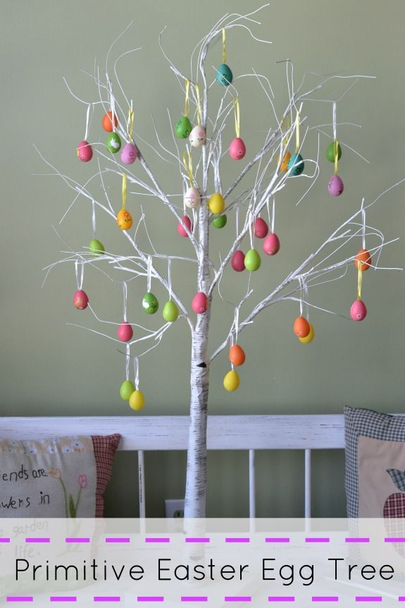 17 best images about easter egg trees on pinterest How to make an easter egg tree