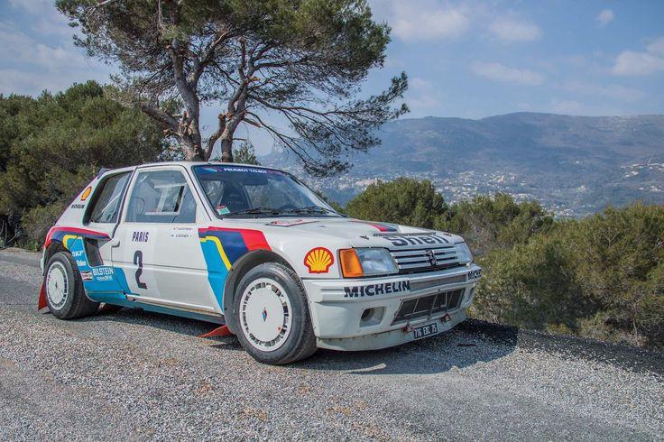 Ari Vatanen's 1985 Peugeot 205 T16 Rally Car Is Now On Sale