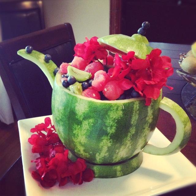 Best watermelon centerpiece ideas on pinterest cute