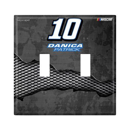Danica Patrick Double Toggle Light Switch Cover