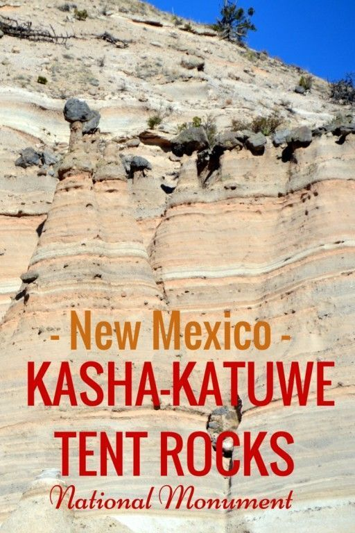 Guide and tips to visiting Kasha-Katuwe Tent Rocks National Monument with kids | New Mexico with kids | theworldisabook.com