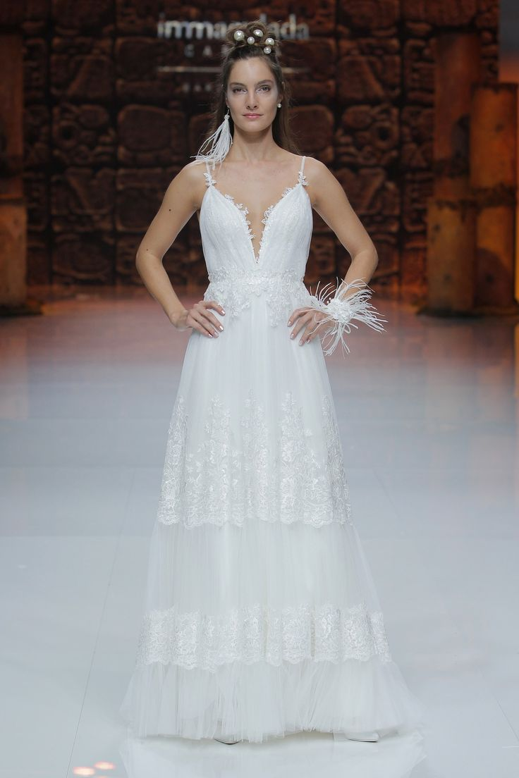 52 best Vestidos de novia Inmaculada García 2019 images on Pinterest