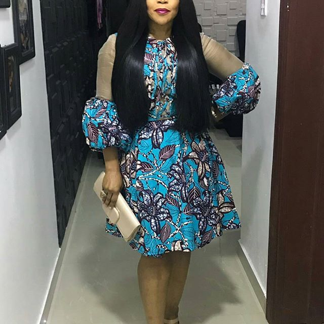 Decent Smart And Lovely Ankara Short Gowns For Every Lady This
