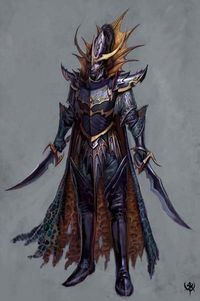 These images are concept art for Warhammer Online.