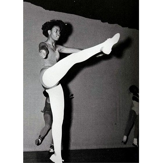 """Check out the throwback Thursday pictures from stars like Michelle Obama """"Let's dance! #LetsMove #TBT #ThrowbackThursday"""""""